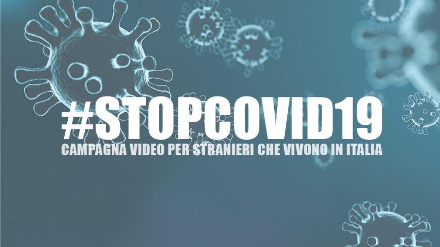 StopCovid19, una campagna social per gli stranieri